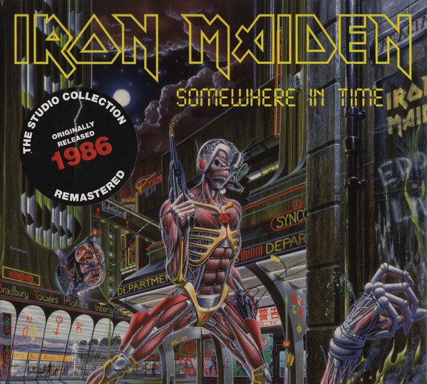 Iron Maiden – Somewhere In Time CD