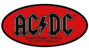 Patch AC/DC Oval