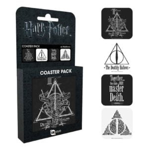 Set Suport de pahare Harry Potter